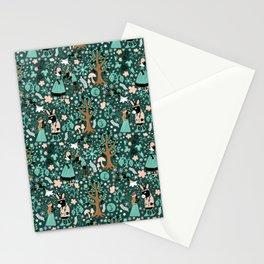 A Midsummer Night's Dream Green Stationery Cards