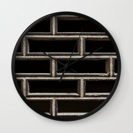 The Grille Wall Clock