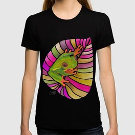 Frog On A Leaf T-shirt