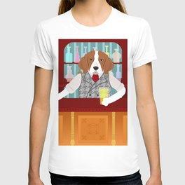 Beagle Beer Pub T-shirt