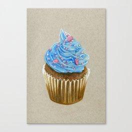 """Cupcake"" Canvas Print"