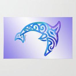 Tribal Dolphin Rug
