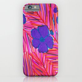 Pink Hawaii Dreams iPhone Case