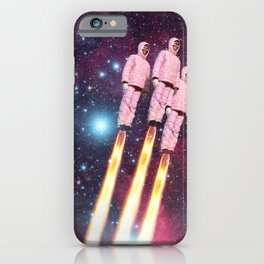 Pink Rockets iPhone Case
