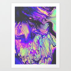 FIRE AND THUD Art Print