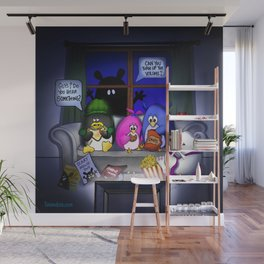 Scary Movie Night Wall Mural