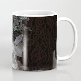 Wild Asters in a Mason Jar Coffee Mug
