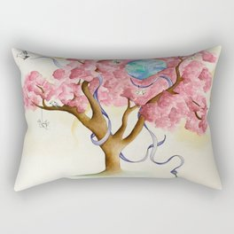 Peace Treety Rectangular Pillow