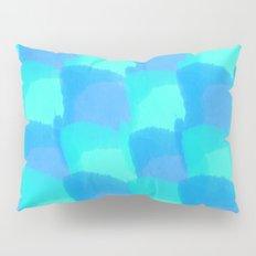 Bluesy Quilt Pillow Sham