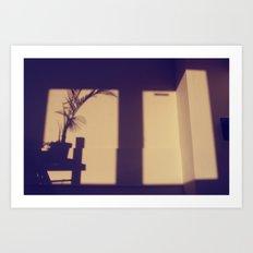 view from my window . iii Art Print