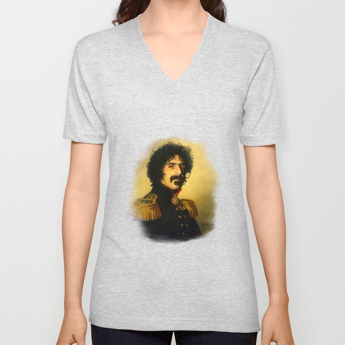 Frank Zappa - replaceface Unisex V-Ausschnitt