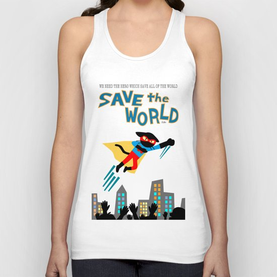 Save the World Unisex Tank Top