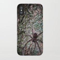 Creepy Spider iPhone X Slim Case