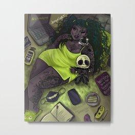 Quarantine Bae 5  Metal Print