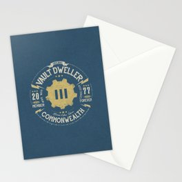 Vault 111 Member Forever Stationery Cards