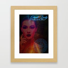 Dark Lady of the Forest of the Damned Framed Art Print
