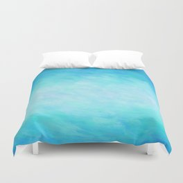 Blue Healing Waters Duvet Cover