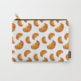watercolor croissant Carry-All Pouch