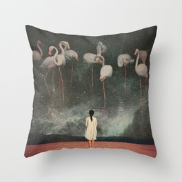 Hanging on to a Dream Throw Pillow