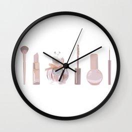 Makeup Lineup Wall Clock