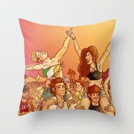 1D Music Fest  Throw Pillow
