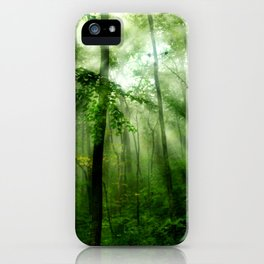 Joyful Forest iPhone Case