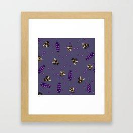 honey lavender Framed Art Print