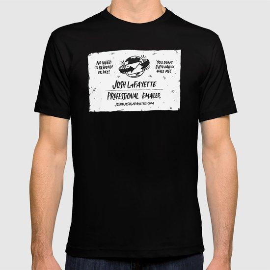 Fake Business Card T-shirt