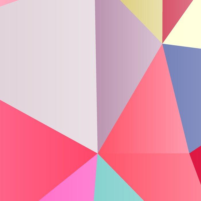 Pink Polygons Leggings