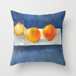Clementine Trio Throw Pillow