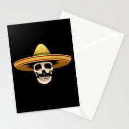 Funny Mexican Skeleton product Gift for Sugar Skull Lovers Stationery Cards
