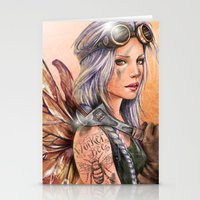 engineer Stationery Cards featuring Engineer Fairy by Mortimer Sparrow