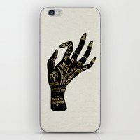 occult iPhone & iPod Skins featuring Palmistry by Cat Coquillette