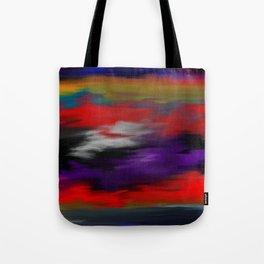 Variegated dark color Tote Bag