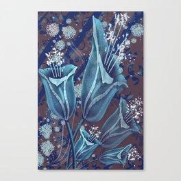 Mystery flower Canvas Print