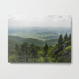 View from the Mountain Top Metal Print
