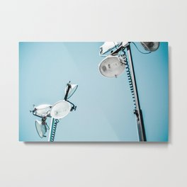 Light Fixtures Metal Print