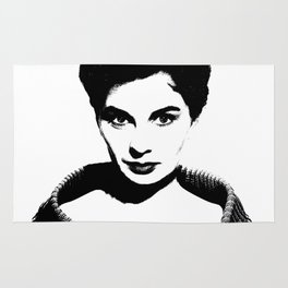 Jean Simmons Is Class Rug