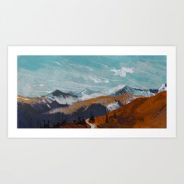 Color Study Art Print