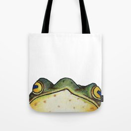 My Sensei is a Frog, Looking into You're Soul Tote Bag