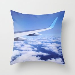 Inflight Entertainment Throw Pillow