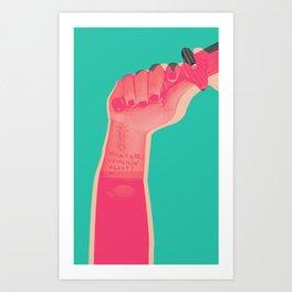 whatareyou talkinabout? Art Print