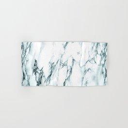 Green Marble Look Hand & Bath Towel