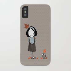 Autumn in my heart Slim Case iPhone X