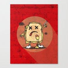 Grilled Cheese Showdown art Canvas Print