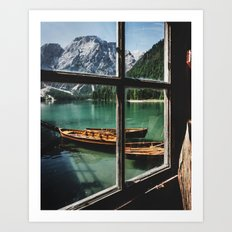 Road Trip 26 - Dolomites Art Print