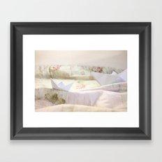 Paperboats  Framed Art Print