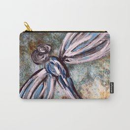 Rustic Dragonfly Art Carry-All Pouch