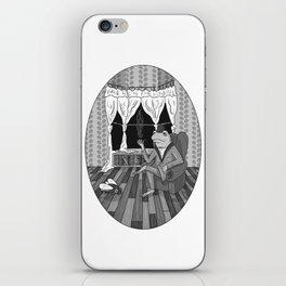 """""""Now, Play dead."""" iPhone Skin"""