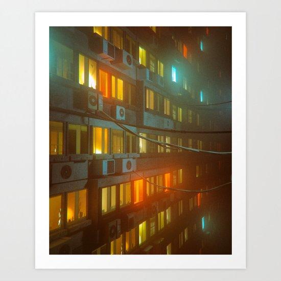 PHASE NINETY (everyday 01.23.17) Art Print